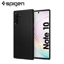 Spigen Liquid Air Case for Samsung Galaxy Note 10 Matte Black Flexible TPU Anit-Slip Thin Lightweight 628CS27373