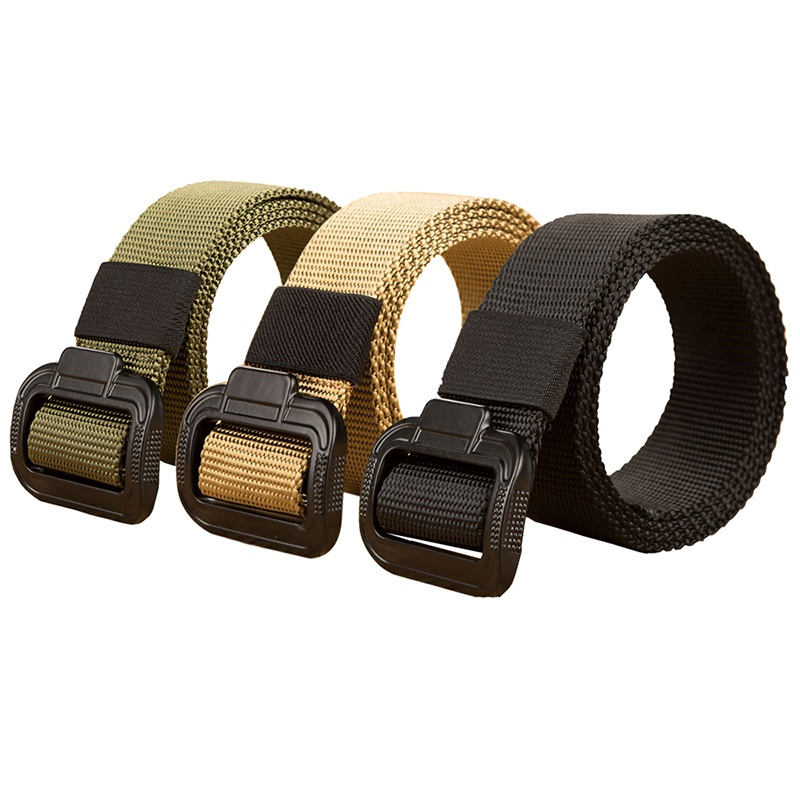 Outdoor 135cm Long Big Size  Nylon Material Mens Belt Military Tactical Male Jeans Belts For Men Luxury