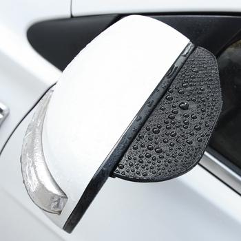 Akcesoria samochodowe wygląd włókna węglowego samochód deszcz brwi dla fiat 500 500x fiat grande punto ducato punto fiat panda tanie i dobre opinie RIMIDI