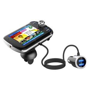 Image 3 - DAB004 DAB 디지털 라디오 수신기 LCD 컬러 스크린 디스플레이 블루투스 라디오 어댑터 지원 MP3 음악 USB 충전기 자동차에 대 한