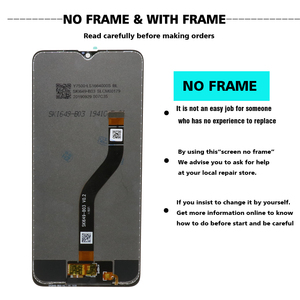 "Image 3 - 6.5 ""% 100% orijinal SAMSUNG Galaxy A20s LCD dokunmatik ekran digitizer çerçeve değiştirme ile modülü SM A207F SM A207G"