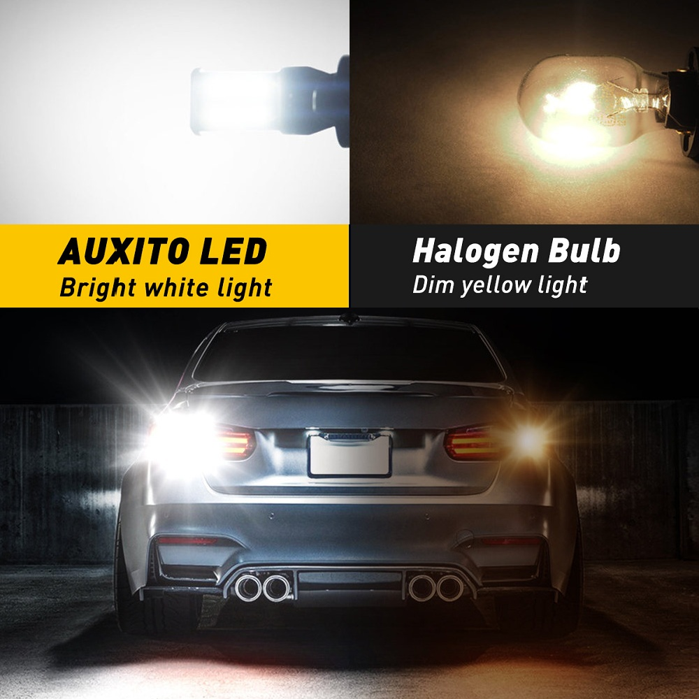 2x Fits Hyundai i40 Bright Xenon White 8SMD LED Canbus Number Plate Light Bulbs