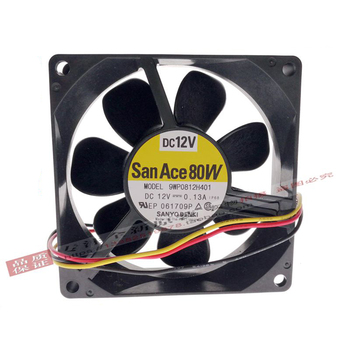 For Sanyo 9WP0812H401 New imported Japanese IP68 waterproof fan 8025 80X80X25MM 12V cooling fan nmb 3110gl b4w b79 cooling fan dc12v 0 38a 80x80x25mm