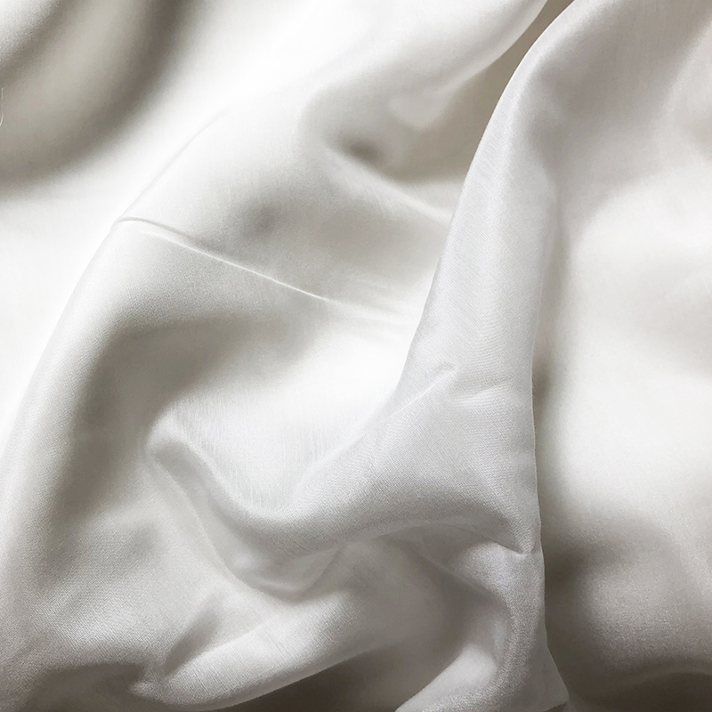 Bestilk Quality Smooth Silk/Cotton Fabric Summer Dress Lining Garment Material DIY Clothes Fabrics For Scarf Freeshipping