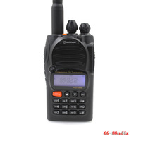 Wouxun waterproof KG 699E 66 88MHZ High power Handheld Two way radio Mini walkie talkie with LCD display