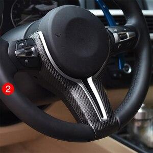 Image 4 - BMW F10 F30 F20 F48 F25 F32 원격 크루즈 컨트롤 속도 버튼 스위치 시프트 기어 패들 용 스티어링 휠 커버 키트 업그레이드
