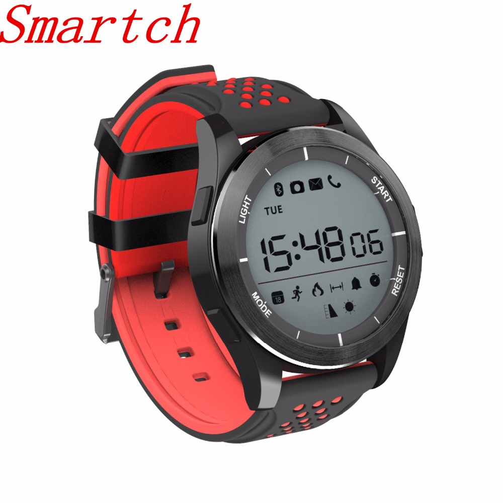 Smartch NO.1 F3 Smart Watch Bracelet IP68 Waterproof Hiking Sports Smartwatch Fitness Tracker Wearable Devices For Android iOS image