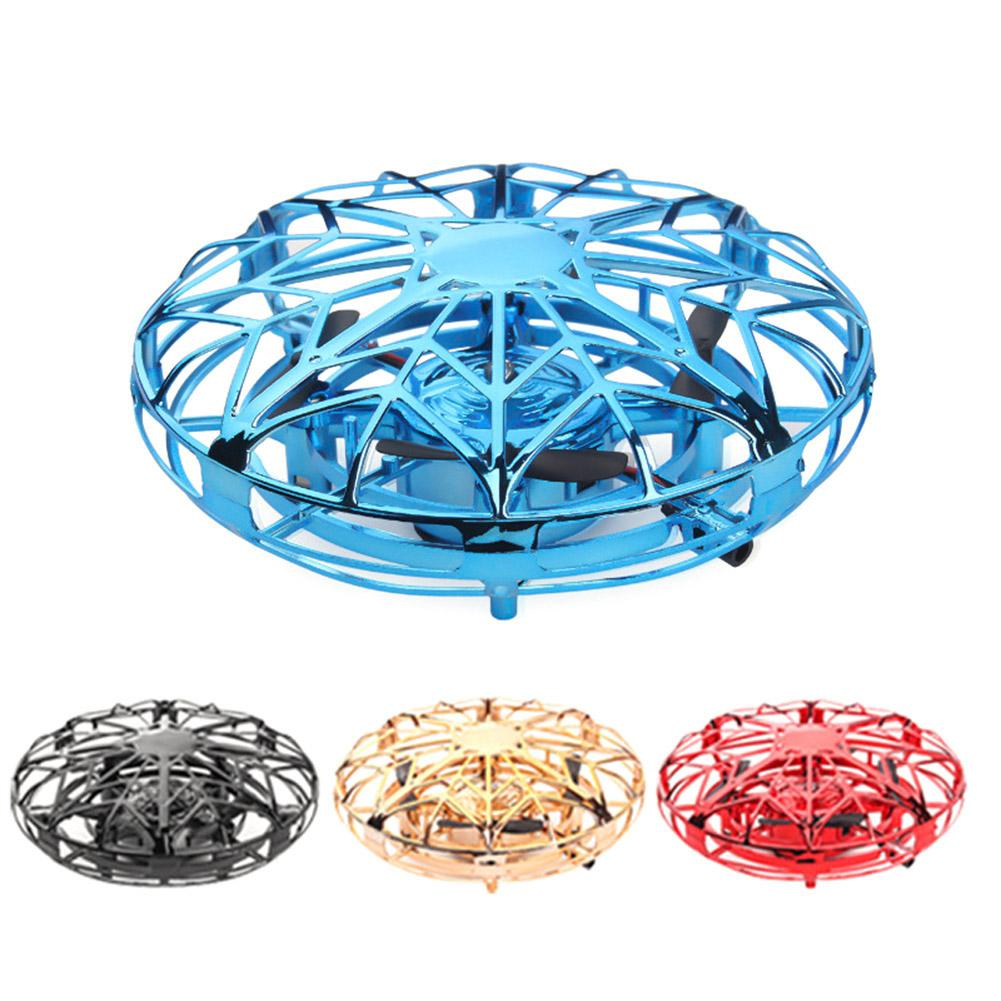 4-Axis Mini Drone UFO Hand Operated RC Helicopter Infrared Induction Aircraft Flying Ball Toys For Kids