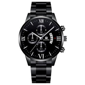 2020 Hot Fashion Mens Watches Luxury Brand Quartz Watch Stainless Steel Men Sport Wristwatches Male Clock Relogio Masculino 1