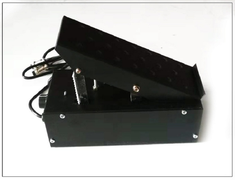 1.8m 2 + 3 Pins Connector Welding Foot Pedal Control Remote Current Stepless Adjust Switch For TIG Welding Machine