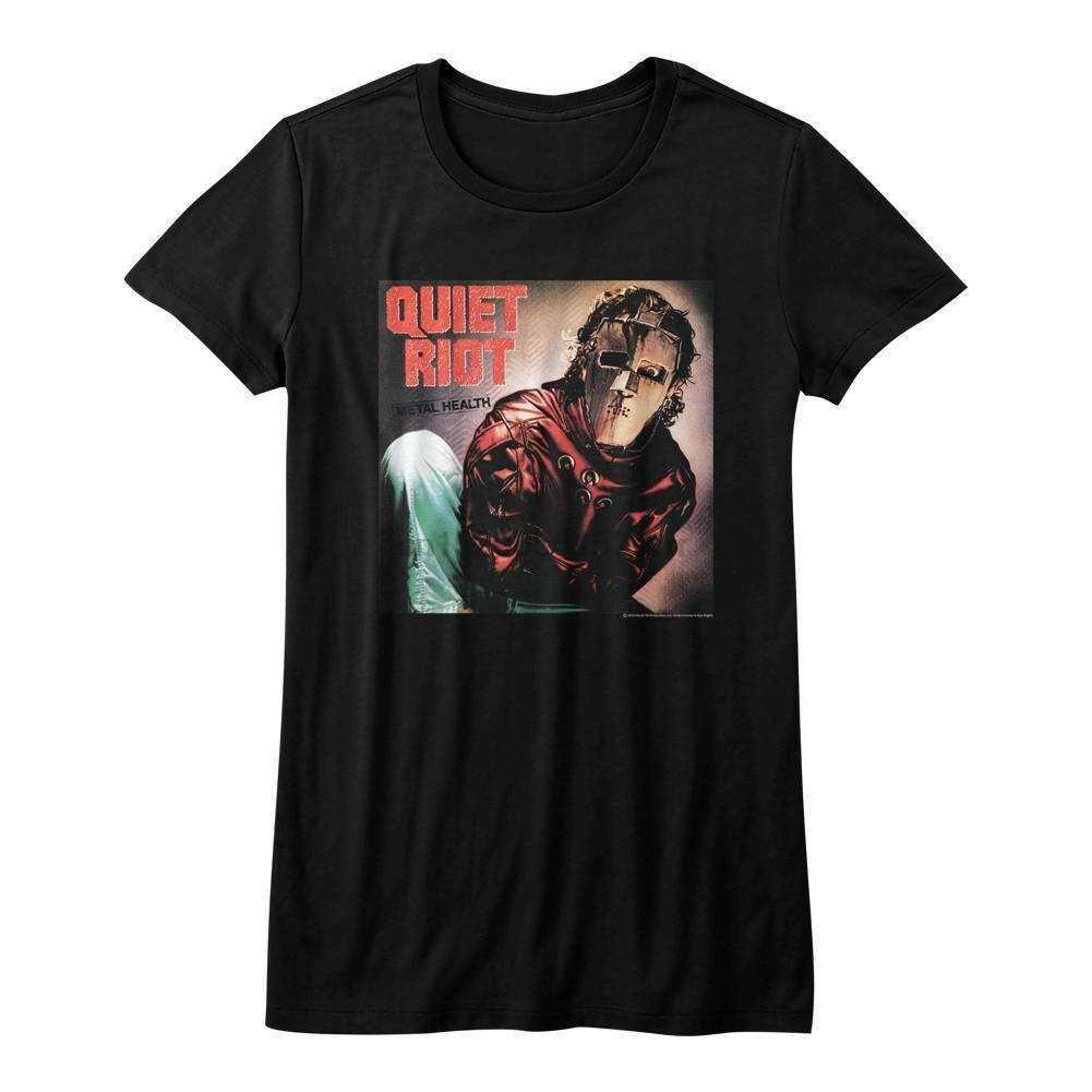 Quiet Riot Album Black Junior Women T Shirt