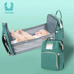 Umaubaby предварительно дизайнерская сумка для детских подгузников, водонепроницаемая сумка для беременных, сумка для детских подгузников, мн...