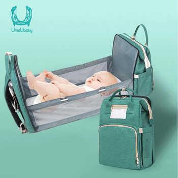 Umaubaby pré-design saco de fraldas do bebê à prova dwaterproof água saco de maternidade para carrinho de criança saco de fraldas grande capacidade multifuncional sacos de múmia novo