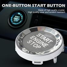 Кнопка одна кнопка кристалл кнопка E переключатель шасси крышка один ключ для BMW 3 серии 5X1X3X5X6 авто моделирование интерьер автоматический доступ