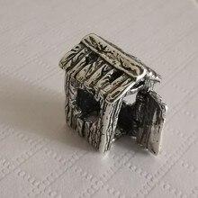 Ökseotu 925 ayar gümüş ofis Charm boncuk avrupa takı