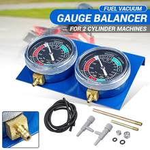 Manomètre de pression pour la synchronisation de carburateur de moto, avec durite, pour Honda, Yamaha, Suzuki, Harley, ensemble de 2/4 pièces