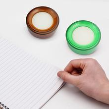 Новый 1 шт. Палец влажный губка палец увлажнитель смачивание креатив деньги бумага для счетчика расходные материалы круглый рука случайный офис цвет C K5S7