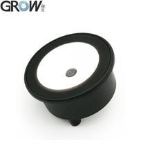 GROW GM73 Small Round Easy Installation USB UART 1D 2D QR Code Barcode Scanner Reader