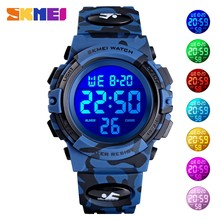 SKMEI Popular Children Electronic Digital Watch Boys Girls Sport Watches Clock 50M Waterproof Kids Wristwatch Reloj Para niños(China)