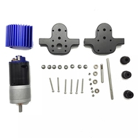370 Motor Trucks Accessories Components Transfer Gear Box Spare Crawlers Part RC Car Bridge Device Metal Case For JJRC Q65