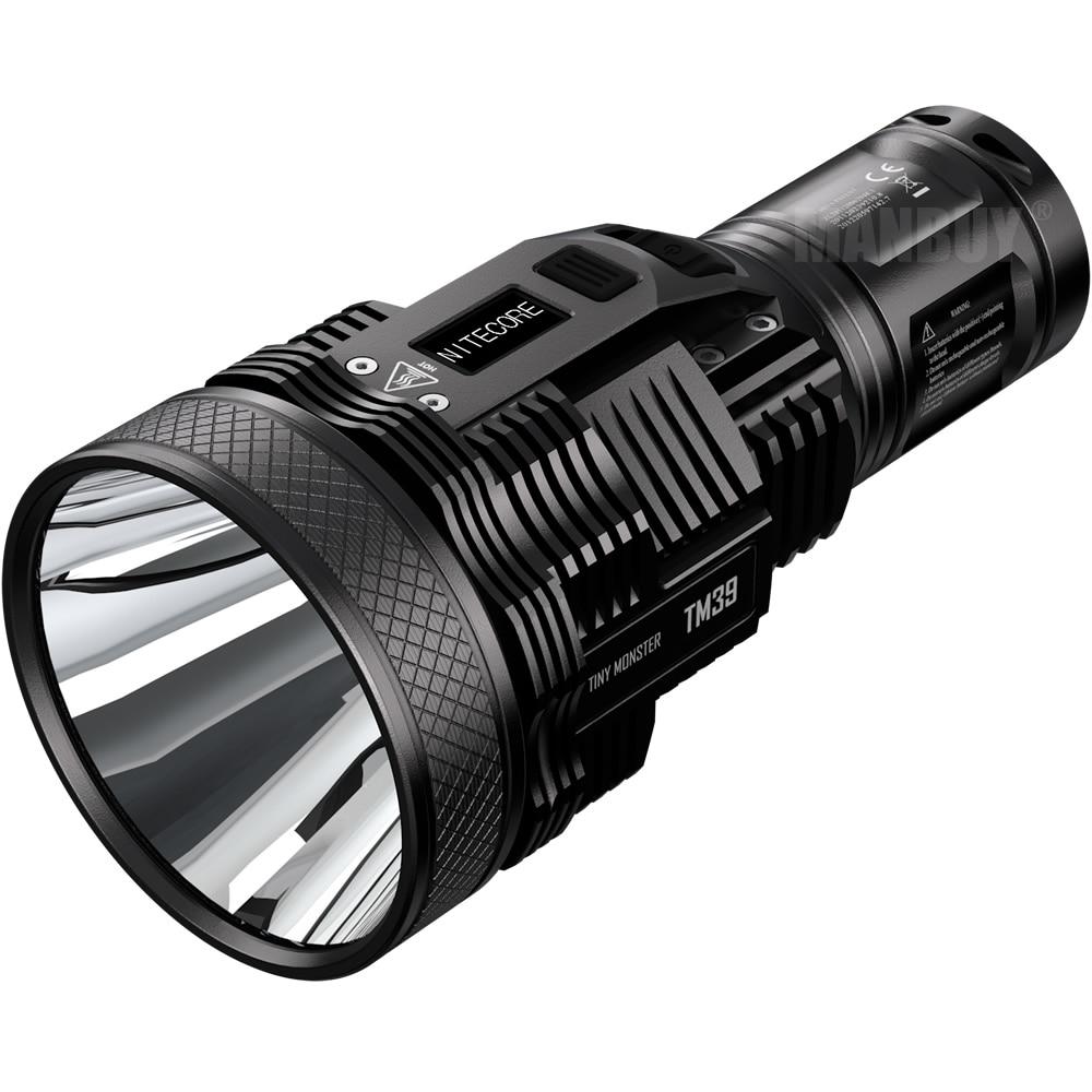 Nitecore TM39 Lite 5200 Lumens High Performance LED Flashlight LUMINUS SBT-90 GEN2 Gear Hunting Outdoor Searching Free Shipping