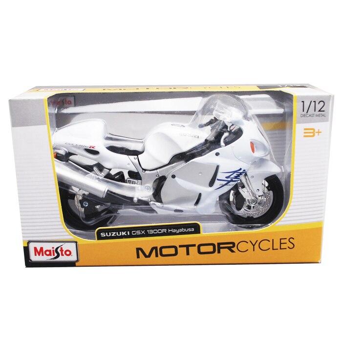 Image 5 - Maisto 1/12 Suzuki GSX1300R Motorcycle Motorbike Diecast Display Model Toy For Kids Boys GirlsDiecasts & Toy Vehicles   -