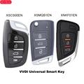 KEYECU Xhorse Smart Universan бесконтактный ключ 4 кнопки для VVDI инструмент для ключей, VVDI мини ключ инструмент, VVDI2 английская версия