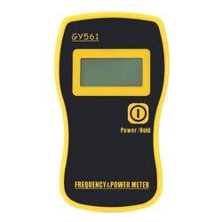 GY561 Mini ręczny miernik częstotliwości miernik mocy do dwukierunkowego radia w Mierniki mocy od Narzędzia na