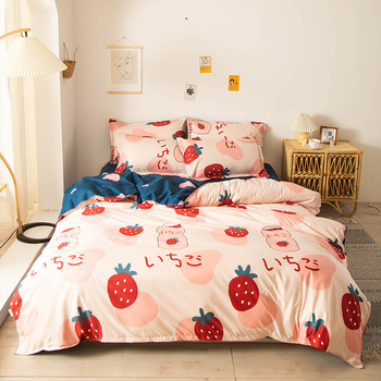 Nordic Bedding Set Strawberry 10