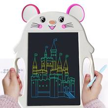 Montessori Kid Toy Drawing Tablet Colorful Handwriting Animal Writing Board 9inch LCD Dispaly Girl Educational Toys For Children