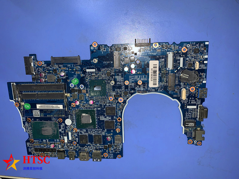 Original 6-77-n170rd00-d02a for CLEVO N155RF MOTHERBOARD for Hasee z6 laptop motherboard with <font><b>i7</b></font>-<font><b>6700hq</b></font> and gtx960m ddr3 image