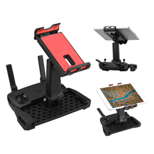 Dla DJI Mavic Pro Air Mini 2 Spark 2 Zoom hubsan h117s zino 4.7 9.7 cala uchwyt do tabletu uchwyt na telefon Drone Clamp akcesoria