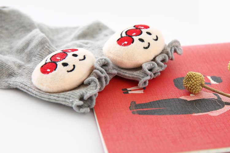 WLG skarpetki dla niemowląt maluch chłopcy dziewczęta cartoon wiosna jesień skarpetki dla 12-36 miesięcy