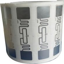 10 шт. UHF 860-960 МГц UHF RFID тег AZ 9662 H3 чип ISO 18000-6C пассивная rfid-метка, UHF наклейка этикетка