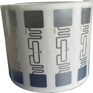 Image 1 - 10 قطعة UHF 860 960MHz UHF تتفاعل العلامة AZ 9662 U8 رقاقة ISO 18000 6C السلبي تتفاعل UHF بطاقة لاصقة
