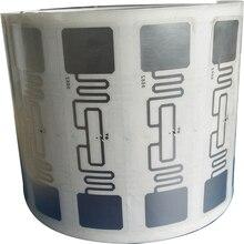 10pcs UHF 860 960MHz UHF RFID Tag AZ 9662 U8 Chip ISO 18000 6C Passive RFID UHF Sticker Label