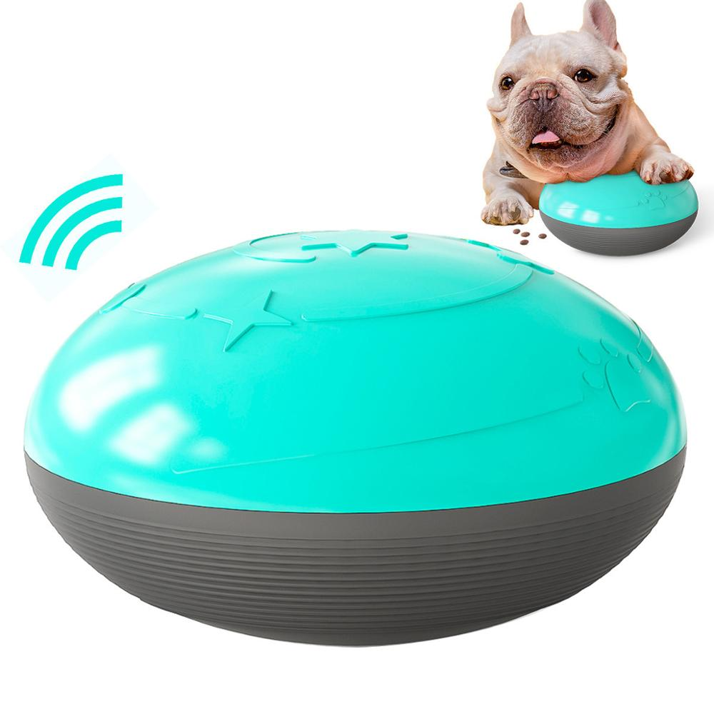 Dog Chew Toy Non Toxic Pressing Sounds Can Leak Food flying Discs Dog Interactive Toys Games Chew Training Toy Pet Supplies