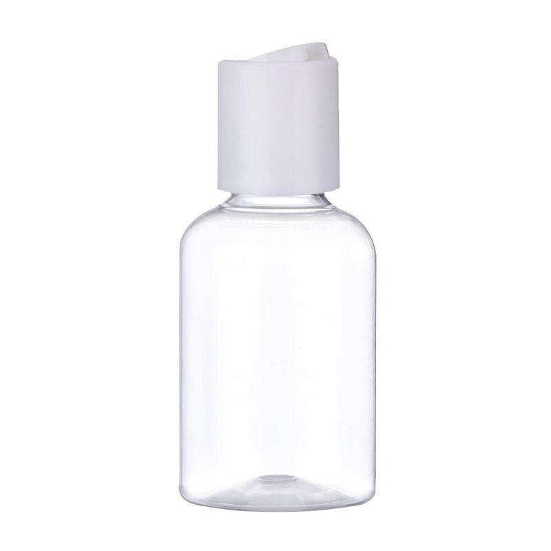 Набор прозрачных дорожных бутылочек для хранения шампуня, кондиционера, 5 шт., 50 мл