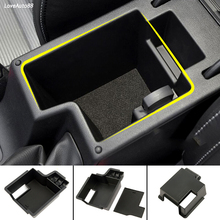 Central Armrest Storage Box Container Interior Stowing Tidying Accessories Car Styling For Skoda Octavia A7 2013 2016 2017 2018