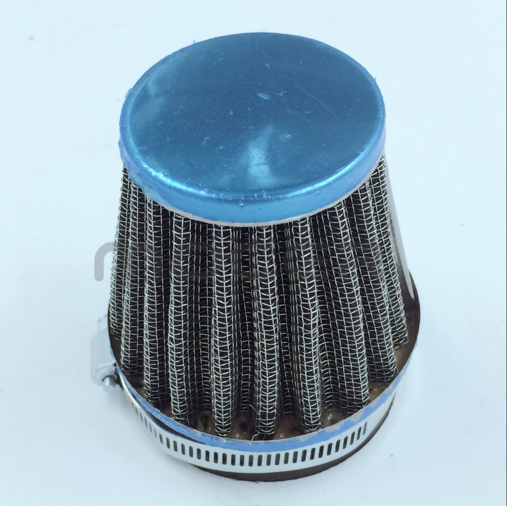 Motorcycles Motorbikes Pit Dirt 60mm Cone Air Filter Intake Engine Inlet Cleaner