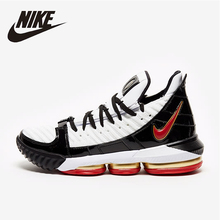 Nike Lebron 16  Four Horsemen Original New Arrival Men Basketball Shoes Outdoor Lightweight Sneakers #CD2451-101 цены
