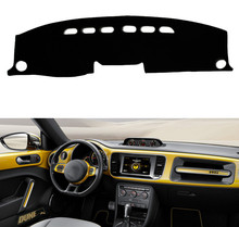 For Volkswagen VW Beetle 2012 2013 2014 2015 2016 2017 Car Dashboard Cover Mat Pad Dash Sun Shade Instrument Carpet Accessories