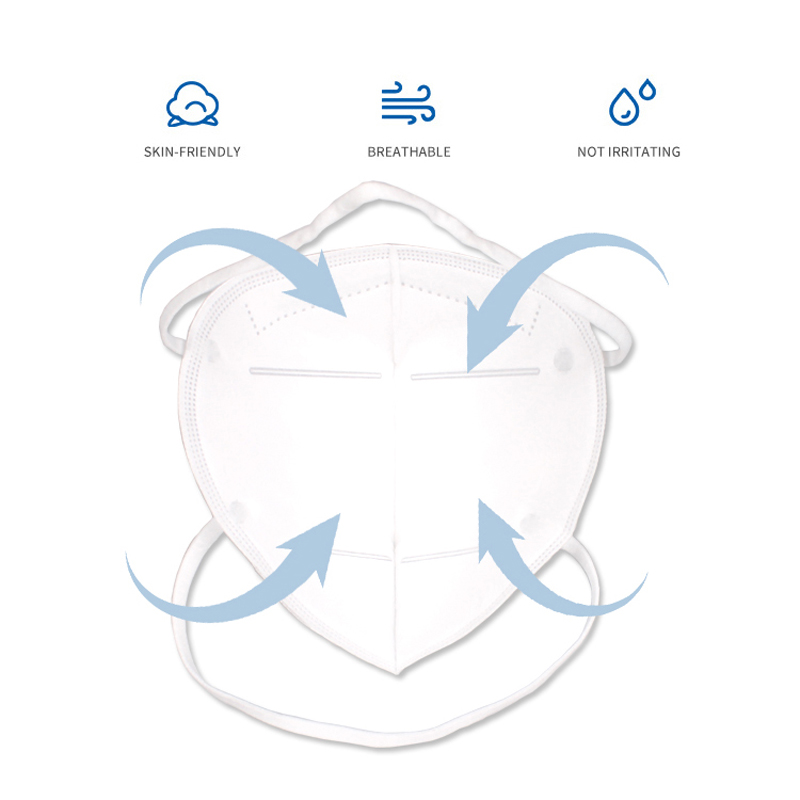 Powecom CE2834 FFP2 Mask 6 Layer Non-Disposable