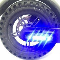 Taśmy ostrzegawcze Led światło latarki taśmy światła dla Xiaomi Mijia M365 skuter elektryczny noc jazda na rowerze akcesoria bezpieczeństwa|Części i akcesoria do hulajnogi|Sport i rozrywka -