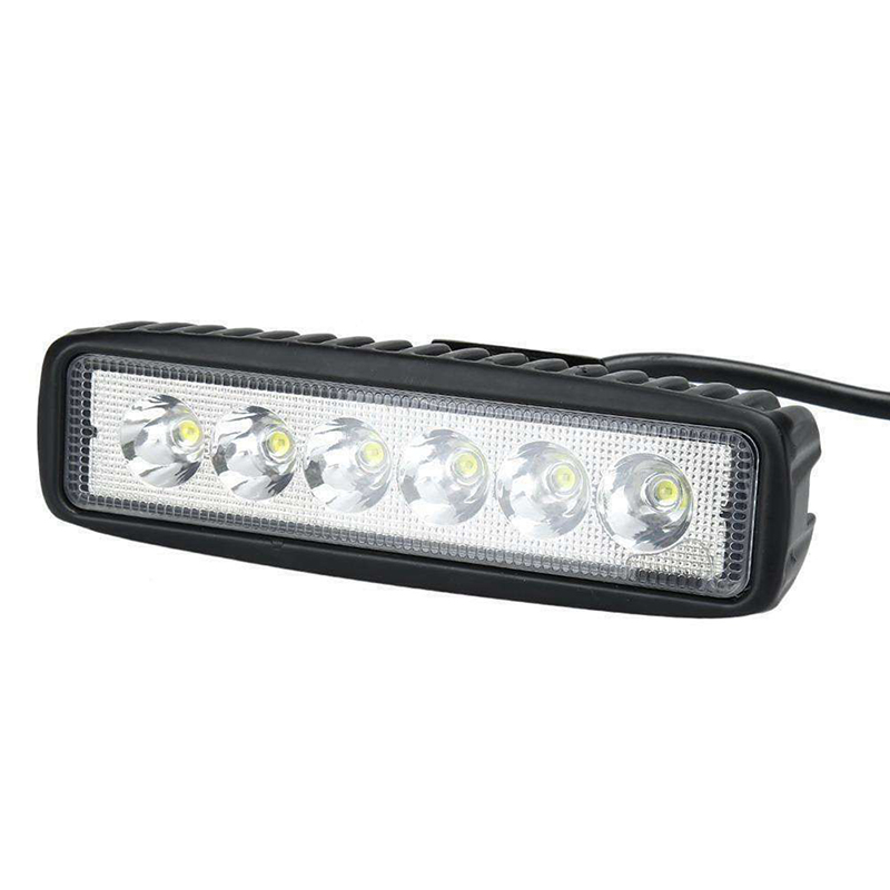 Work-Light DRL Truck Led-Spot Flood 18w 6000k 1pcs SUV 4WD UTE