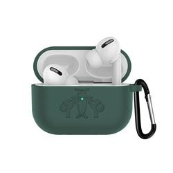 Dla apple airpods Pro air pods Pro pokrywa Funda bezprzewodowa torba na słuchawki pokrowiec na air pods Pro słuchawki douszne przypadku 6