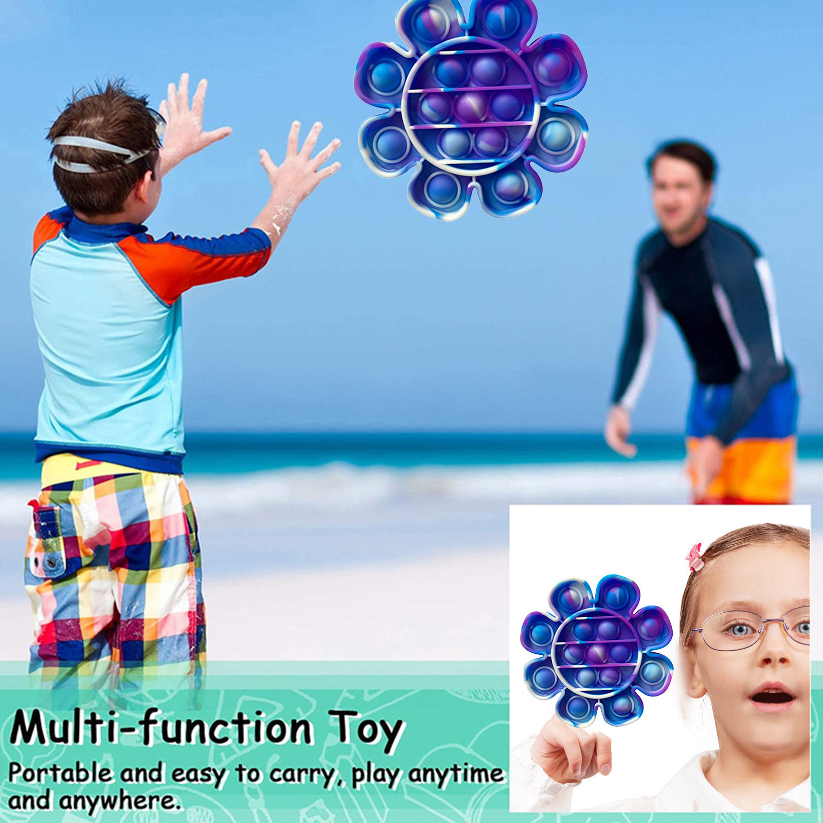 Fidget-Toys Antistress-Box Bubble Squishy Special Relief-Toy Gift Hot-Push Soft img4