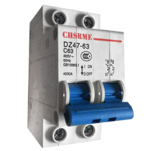 cenb1 125 type 1000v solar circuit breaker mini dc circuit breaker mcb with overload short circuit protection 125a 100a 80a 63a 2P 63A DC400V MCB Solar Energy Photovoltaic (pv) Solar DC Circuit Breaker