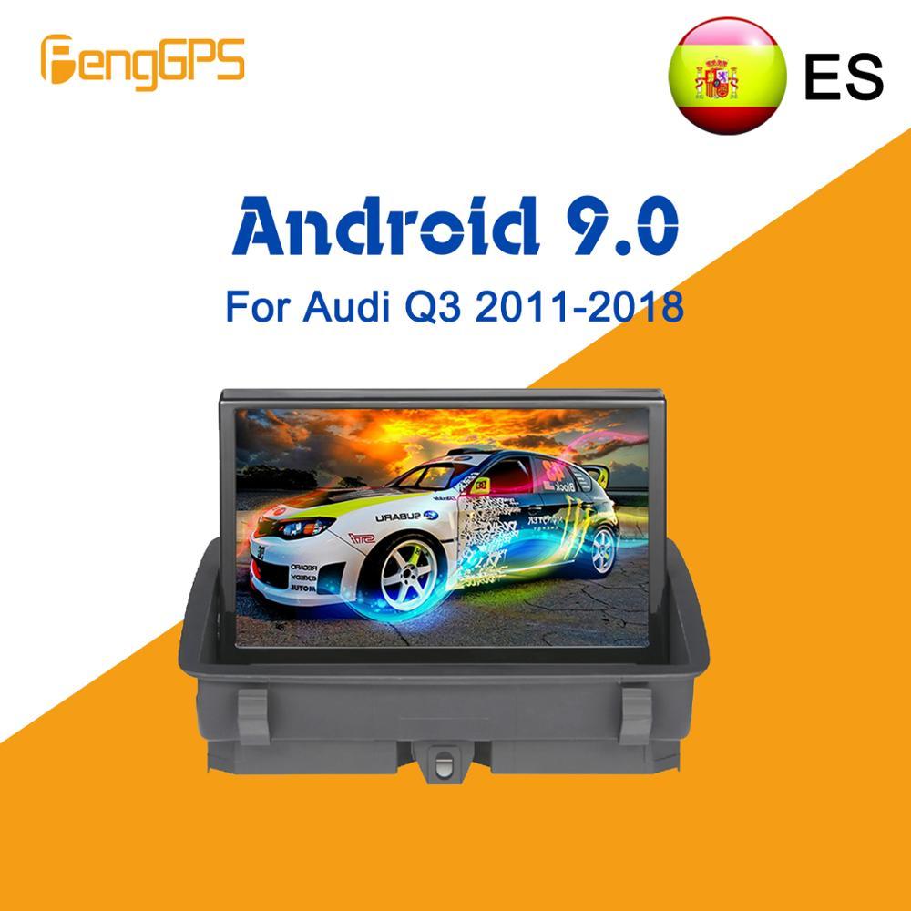 Android 9.0 DSP Autoradio Head Unit For Audi A1 Q3 2010-2018 Car Multimedia Player Radio Car GPS Navigation DVD Player