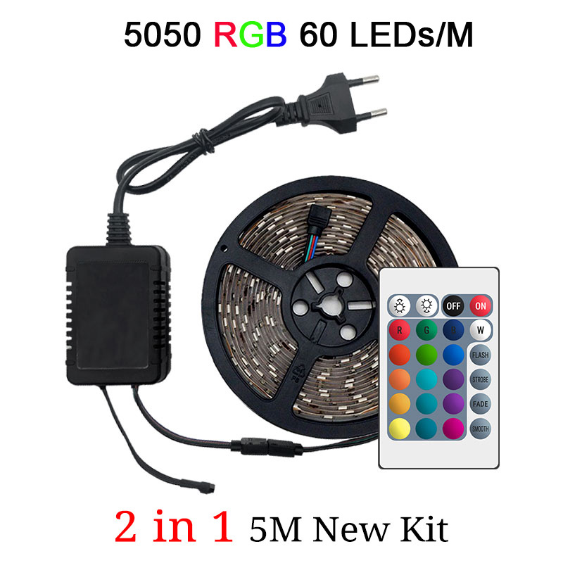 5050 60LEDs 1M 2in1